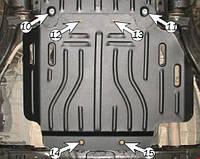 Защита коробки LEXUS LX 570 с-2007 г.