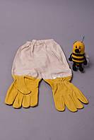 Рукавички бджоляра шкіряні катон