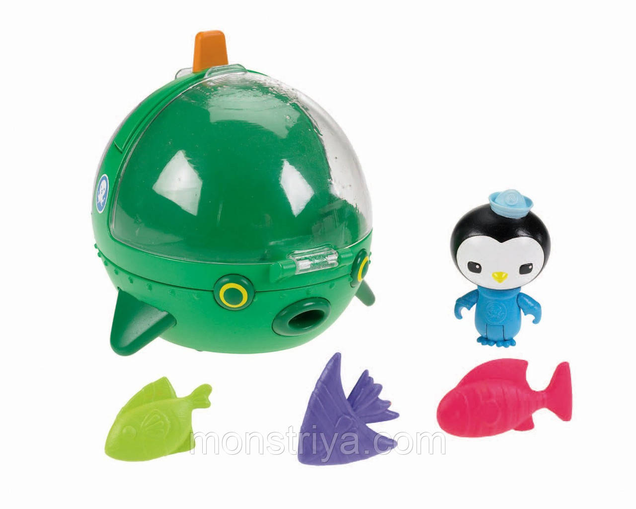 "Игрушки "" Октонавты"" Fisher-Price Octonauts Пингвин Медик Песо"