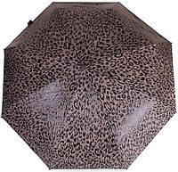 Модный женский зонт-автомат ZEST( ЗЕСТ) Z24752-6 Антиветер коричневый