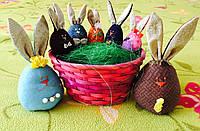 """Набор пасхальный подарочный Семья """"Пасхальные кролики зайчики"""""""