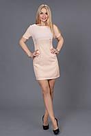 Нарядное платье нежно розового цвета