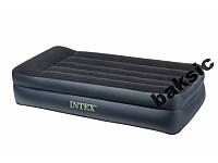 Односпальная надувная кровать (203х102х50см) Intex