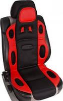 Накидка на сиденье комбинация черного с красным 1 штука Vitol Швеция