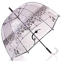 Оригинальный женский механический зонт ZEST( ЗЕСТ) Z51570-11 прозрачный