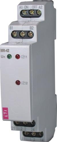 """Импульсное реле с функцией """"память"""" MR-42  230V AC (2x16A_AC1), ETI, 2470095"""