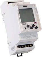 Многофункциональный цифровой термостат+цифровой таймер TER-9 230V (2x16A_AC1), ETI, 2471824