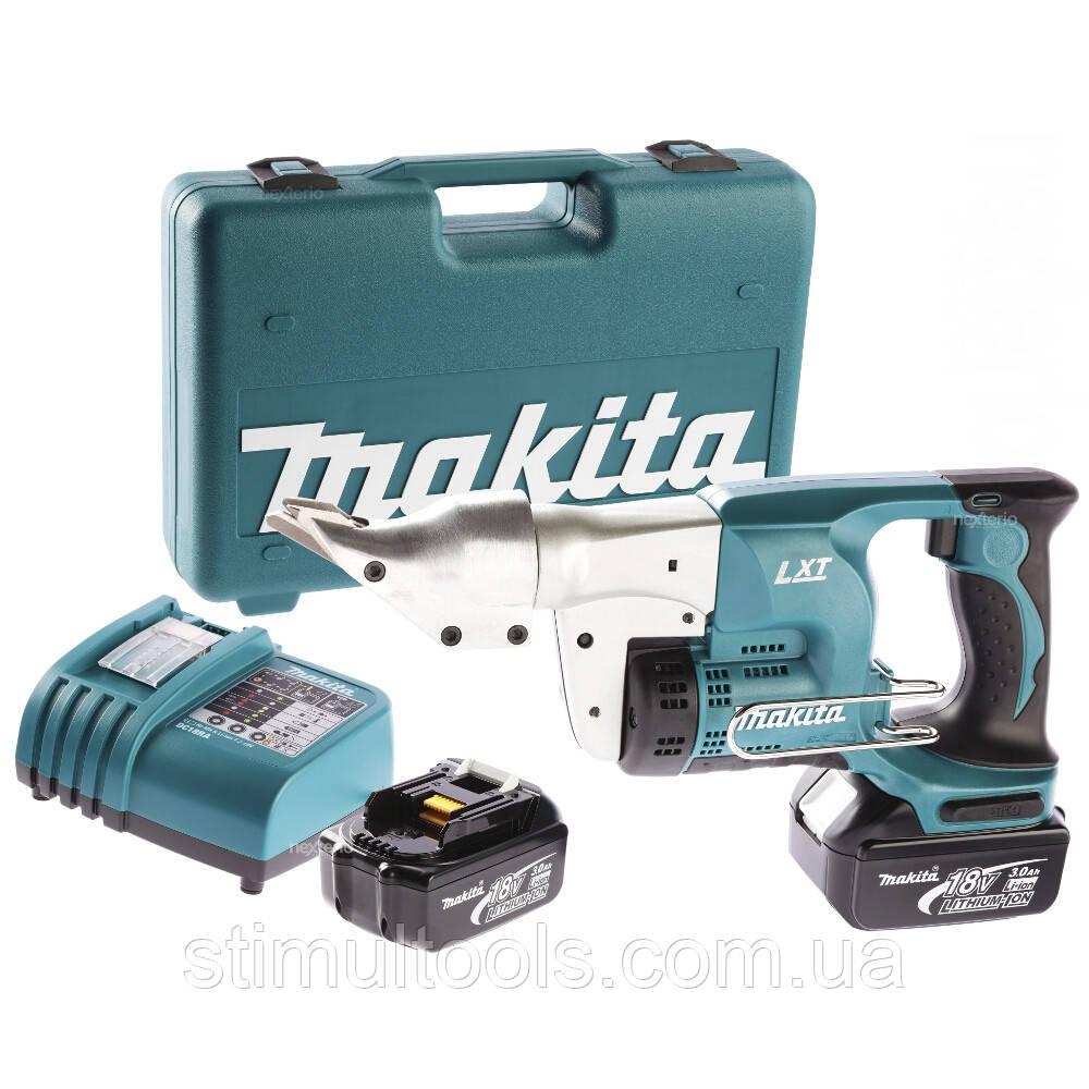 Аккумуляторные угловые ножницы Makita DJS130RFE