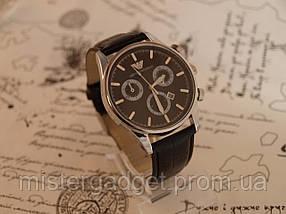 Часы мужские Emporio Armani Black копия, фото 2