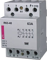 Контактор модульный R 63-40 230V, ETI, 2463450