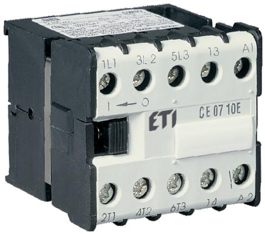 Контактор CE 07.10 24V AC, ETI, 4641020