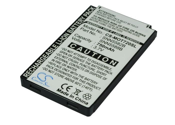 Аккумулятор для Motorola 720i 750 mAh