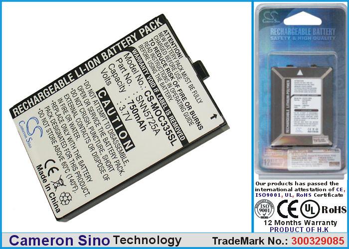 Аккумулятор для Motorola C335 750 mAh