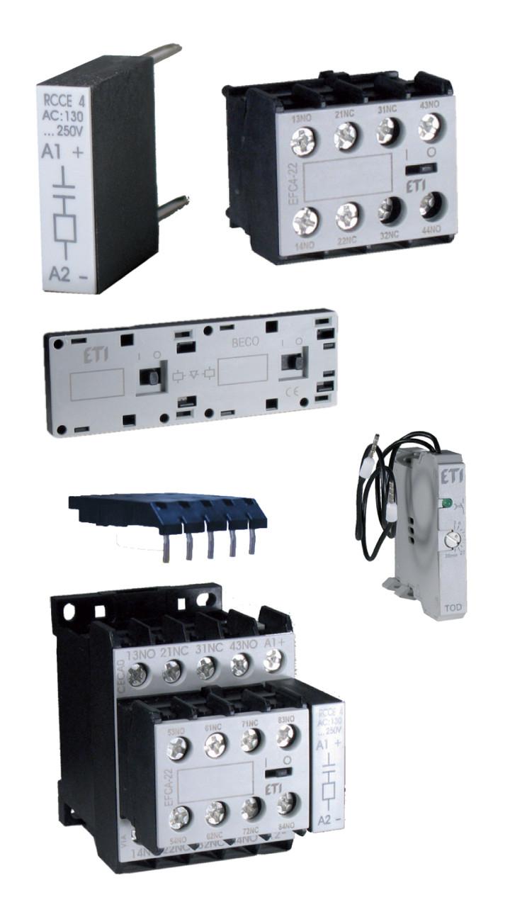 Блок-контакт EFC0-31 (3NO+1NC), ETI, 4641526