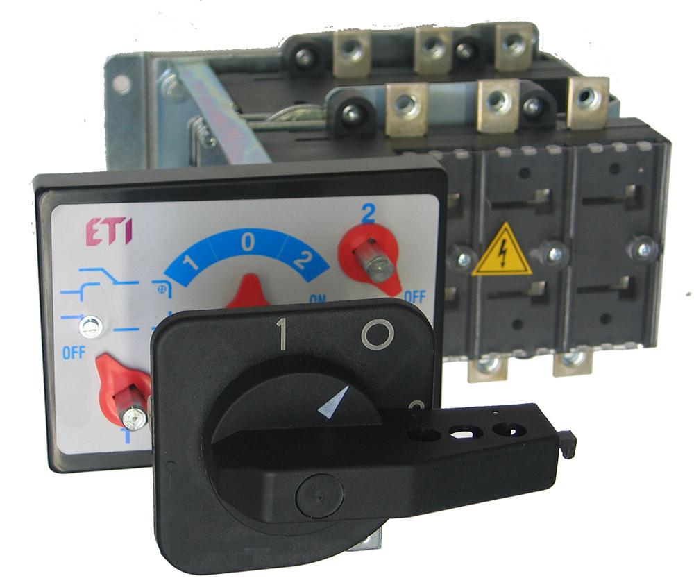 """Перемикач навантаження LA CO 3P 5/D 1250A (""""1-0-2"""", з виносною рукояткою), ETI, 4667006"""