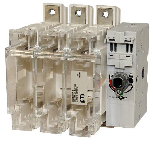 """Роз'єднувач навантаження під запобіжники FLBS 400 3P (""""1-0"""", NH2, 400A), ETI, 4661803"""