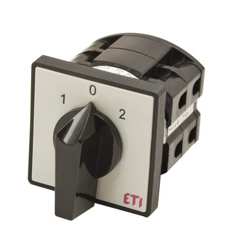 """Перемикач CS 25 53 U (3p_""""1-0-2""""_з/ч_ 25A), ETI, 4773121"""