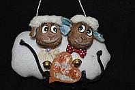 """Игрушка Пасхальные овечки """"На счастье"""" (ручная работа)130/90"""