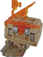 Клемма винтовая под предохранитель с втулкой VSV 4 PA  (4 mm2_бежевая), ETI, 3901699