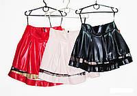 Кожанная юбка для девочки.Новинка Рост 134, 140, 146, 152. , фото 1