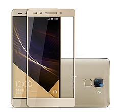 Защитное стекло Optima Full cover для Huawei Honor 7 золотистый