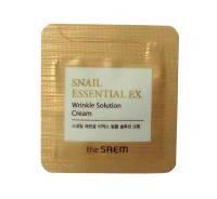 The Saem Snail Essential EX wrinkle solution Cream Омолаживающий крем