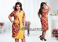 Платье большого размера 52-60 разные цвета