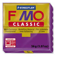 Полимерная глина Fimo Classic 61 ярко-фиолетовый 56г