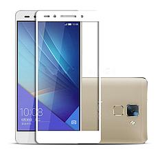 Защитное стекло Optima Full cover для Huawei Honor 7 белый