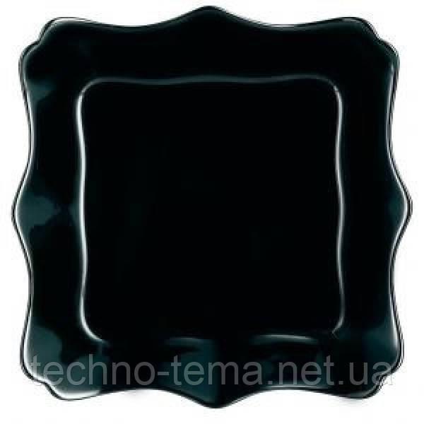 Тарелка глубокая 22 см Authentic Black Luminarc J1407