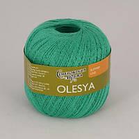 Семеновская Олеся 100г/500м 248 изумрудная зелень
