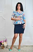 Нарядное молодежное платье стильного кроя