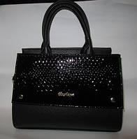 Элегантная женская сумка комбинированная
