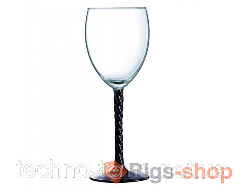 Authentic Black. Набор бокал/вино 310мл-3шт Luminarc h5656