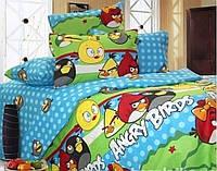 """Комплекты постельного белья """"Энгри Бердс"""" детский, полуторный, двуспальный, евро, семейный"""