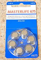 Батарейки Masterlife 675, фото 1