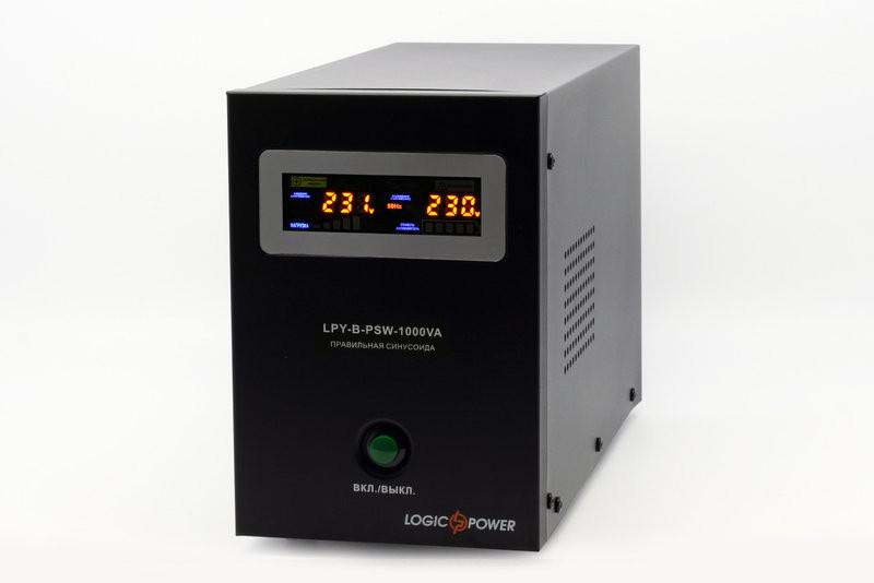 Бесперебойник LogicPower LPY-B-PSW-1000VA+ - ИБП (12В, 700Вт) - инвертор с чистой синусоидой