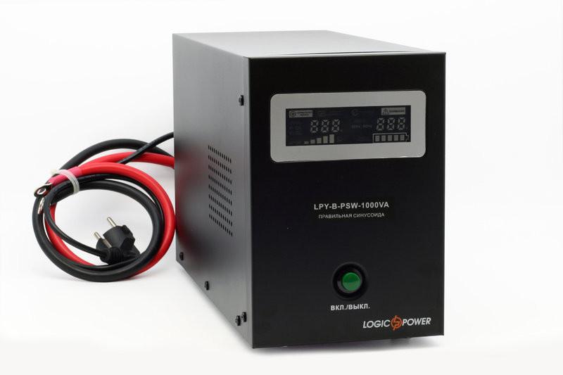 Бесперебойник LogicPower LPY-B-PSW-800VA+ - ИБП (12В, 570Вт) - инвертор с чистой синусоидой