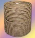 Веревка льнопеньковая диаметром 10-20-30-40-50 мм