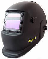 Сварочная маска Хамелеон OPTECH S777С чёрный с увеличительной линзой