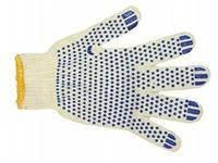 Перчатки х/б с ПВХ точкой, фото 1