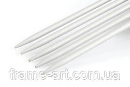 45107 КнитПро Спиці шкарпеткові алюміній d5,0мм 15см