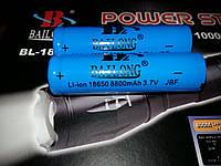 Аккумулятор BAILONG Li-ion 18650 аккумулятор 8800 mah 3.7V