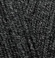 Ализе Ланаголд 800 100г/800м 151 черный седой