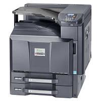 Лазерный, полноцветный сетевой принтер Kyocera FS-C8600DN формата А3. Широкоформатная печать. Дуплекс.