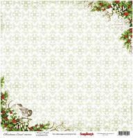 Бумага для скрапбукинга 30,5*30,5 см 180 гр/м двуст. Ночь перед Рождеством Гадания