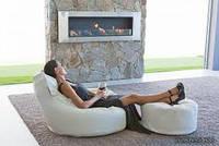Где можно использовать бескаркасную мебель?