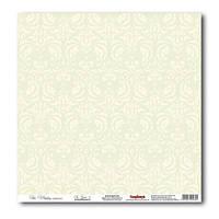 Бумага для скрапбукинга 30,5*30,5 см 180 гр/м одност. Свадебная Нежно-зеленый