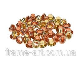 Люверсы 4,8 мм золото-медь SCB340607