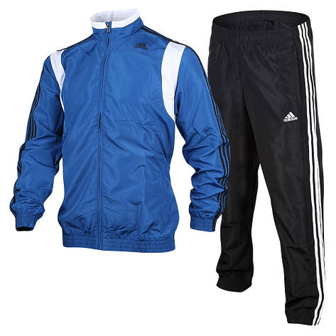 Спортивный мужской костюм Adidas 3-Stripes Basic Track Suit, фото 2